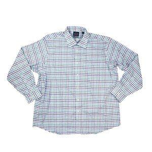 Eagle Checkered Long Sleeve Button Down Shirt NWT